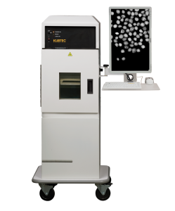 XPERT 80 X-ray Imaging System with seeds on screen